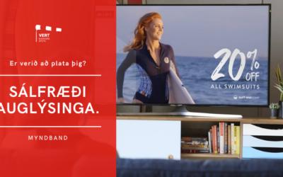 """Sálfræði auglýsinga. Hvernig er verið að """"spila"""" á þig?"""