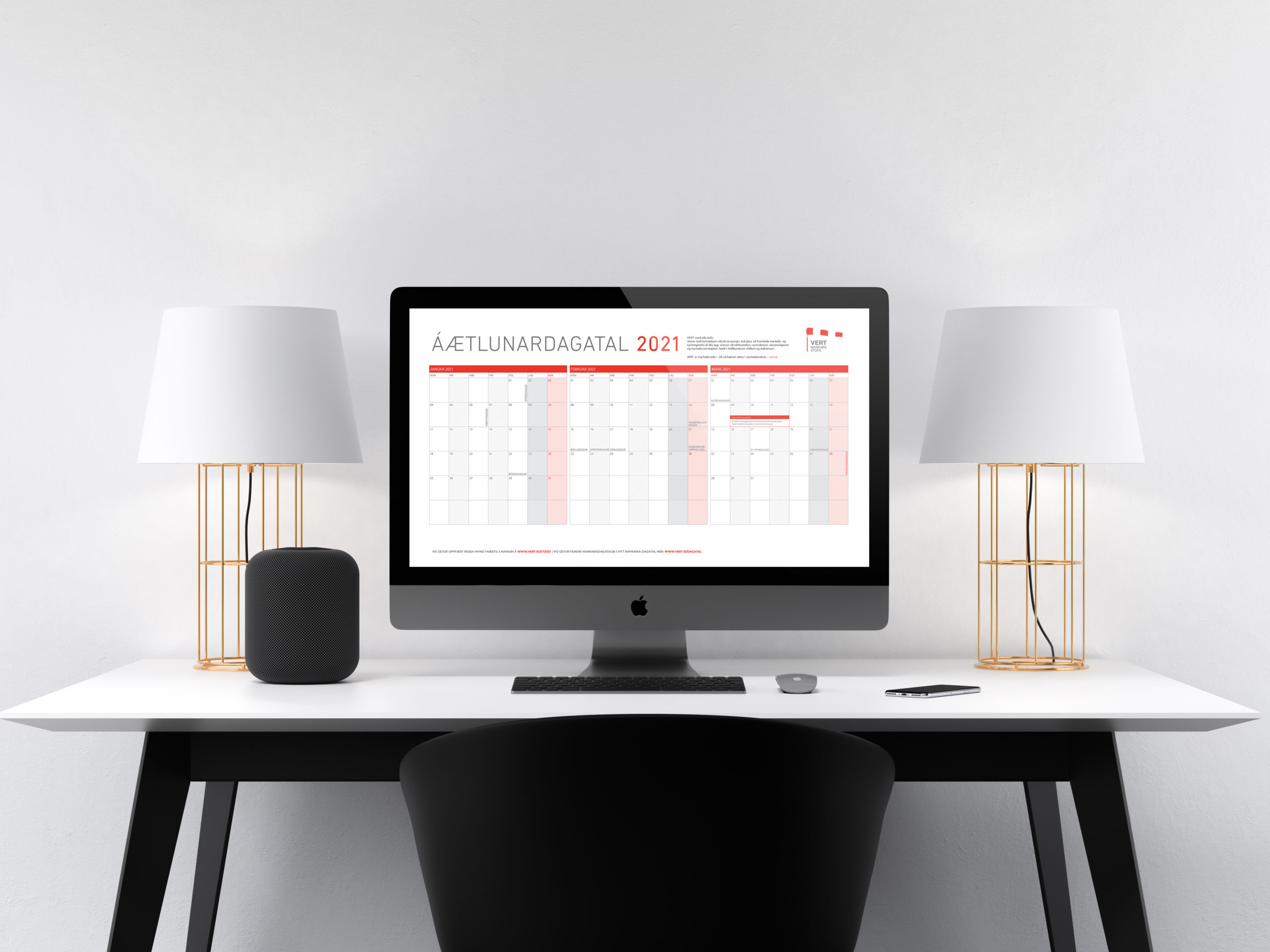Desktop dagatal VERT